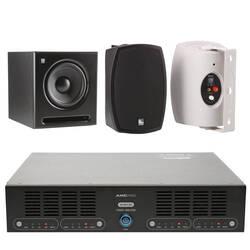 AMC - AMC Üst Seviye Cafe-Mağaza Ses Sistemi (Sütun Hoparlörü)