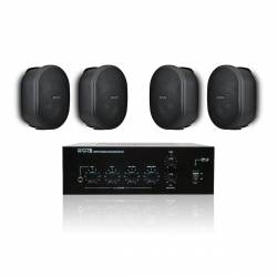 InfoMusic Ses Paketleri - Apart Küçük Kafe Ses Sistemi Paketi