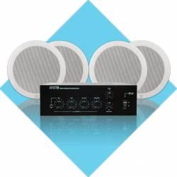 InfoMusic Ses Paketleri - Apart Hoparlör Küçük Mağaza Ses Sistemi Paketi