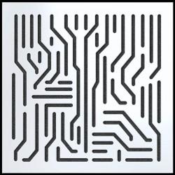 Artnovion - Artnovion Azteka (Blanc) - Absorber ( 8 Adet 60 x 60 cm)