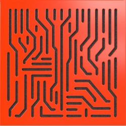 - Artnovion Azteka (Noir) - Bass Trap (2 Adet 60 x 60 cm)