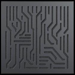Artnovion - Artnovion Azteka (Noir) - Bass Trap HP (2 Adet 60 x 60 cm)