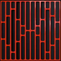 Artnovion - Artnovion Logan (Rouge) - Diffuser (4 Adet 60 x 60 cm )