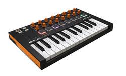 Arturia - Arturia MiniLab MKII Orange Edition 25 Tuş Midi Klavye