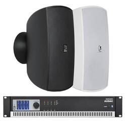 Audac - Audac Üst Seviye Cafe-Mağaza Ses Sistemi (Sütun Hoparlörü)