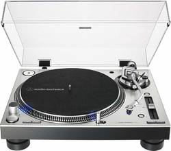 Audio-Technica - Audio Technica AT-LP140XPSV Profesyonel Dj Turntable Gümüş