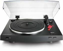 Audio-Technica - Audio Technica AT-LP3BK Stereo Turntable