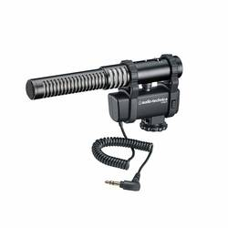 Audio-Technica - Audio Technica AT8024 Stereo/Mono Kamera Mount Mikrofon
