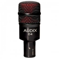 Audix - Audix D4 Dinamik Davul ve Enstrüman Mikrofonu