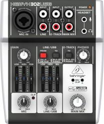 Behringer - Behringer 302USB 2 Kanal USB Ses Kartlı Stüdyo Mikseri