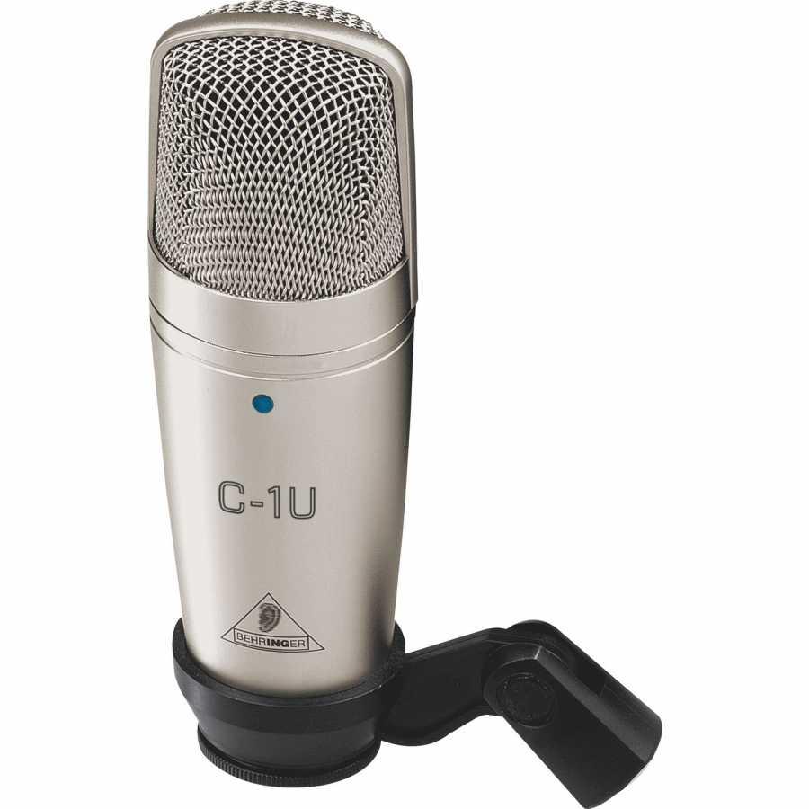 Behringer C-1U USB Condenser Stüdyo Kayıt Mikrofonu
