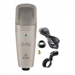 Behringer C-1U USB Condenser Stüdyo Kayıt Mikrofonu - Thumbnail