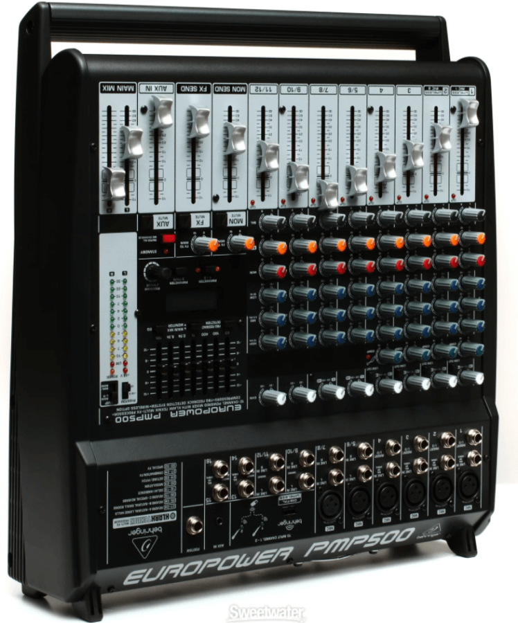 Behringer EuroPower PMP500 12 Kanal 500 Watt Power Mikser