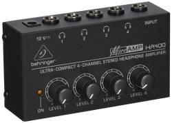 Behringer - Behringer MicroAMP HA400 Kulaklık Amplifikatörü