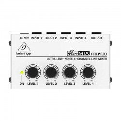 Behringer - Behringer Micromix MX400 4 Line Kanallı Mikser