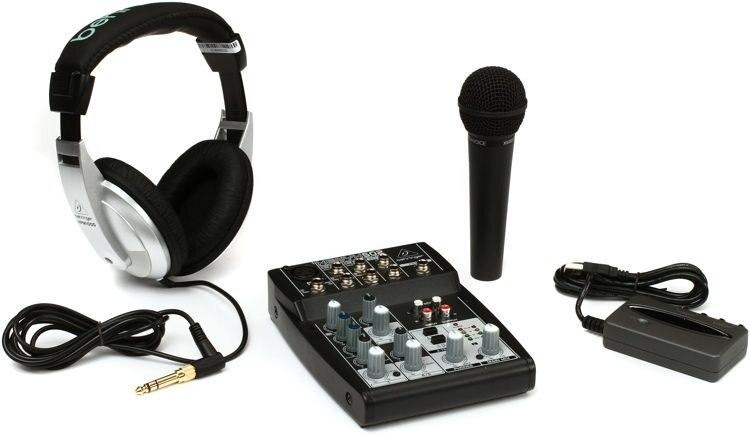 Behringer Podcastudio USB Stüdyo ve Yayın Paketi