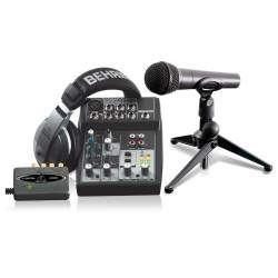Behringer Podcastudio USB Stüdyo ve Yayın Paketi - Thumbnail