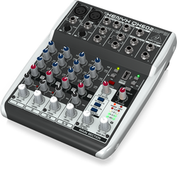 Behringer - Behringer XENYX QX602MP3 6 Kanal MP3 Player Özellikli Mikser