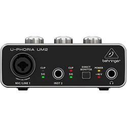 Behringer - Behringer U-Phoria UM2 2 Kanallı USB Ses Kartı