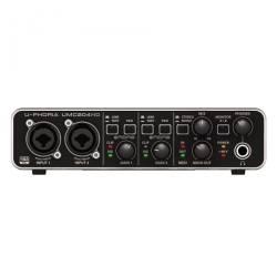 Behringer - Behringer U-Phoria UMC204 HD 2 in 4 Out USB Ses Kartı