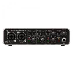 Behringer U-Phoria UMC204 HD 2 in 4 Out USB Ses Kartı - Thumbnail