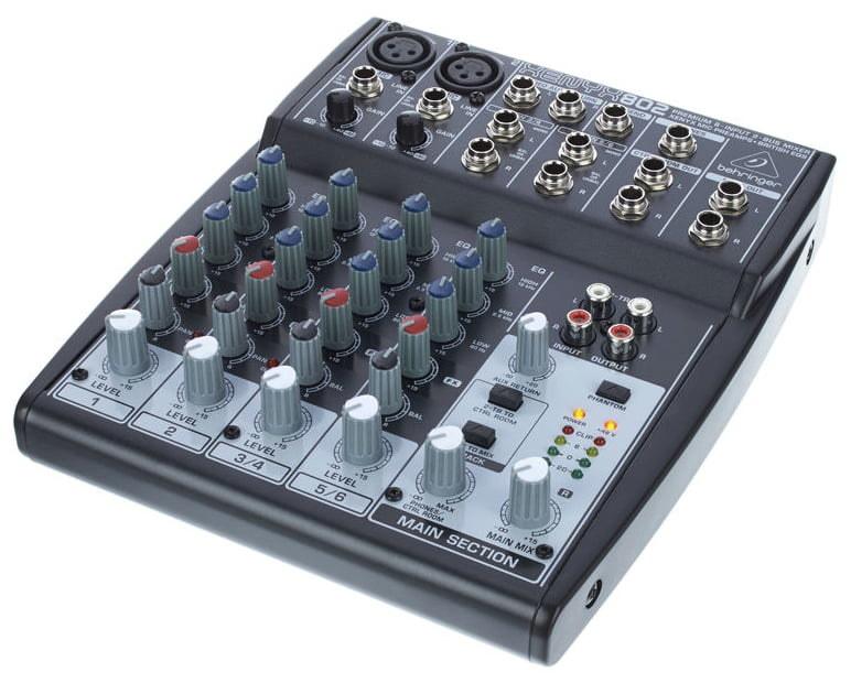 Behringer Xenyx 802 8 Kanal Home Stüdyo Mikseri