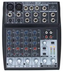 Behringer - Behringer Xenyx 802 8 Kanal Deck Mikser