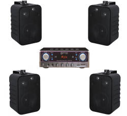 InfoMusic Ses Paketleri - Denox Bluetooth Özellikli Ekonomik Mağaza Sistemi