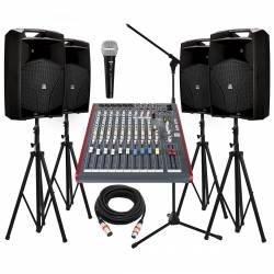 InfoMusic Ses Paketleri - Büyük Aktif 15'' Düğün Konferans Paketi
