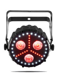 Chauvet - Chauvet FXpar 3 - 3 x 8 Watt Quad-Colour Efektli Led Par