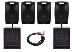 InfoMusic Ses Paketleri - Club Bar ve Canlı Müzik Ses Sistemi