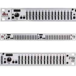 dbx - dbx 215 S Çift Kanal 15 Band Equalizer