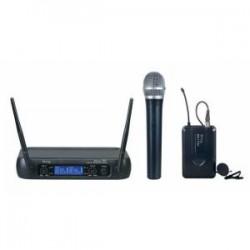 Denox - Denox MDR-220 Kablosuz Çift El Mikrofon