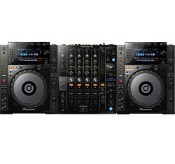 InfoMusic Dj Paketleri - Pioneer DJ CDJ-900 NXS + DJM 750 MK2 Setup Paketi