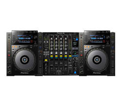 InfoMusic Dj Paketleri - Pioneer DJ CDJ-900 NXS + DJM-900 NXS2 Setup Paketi