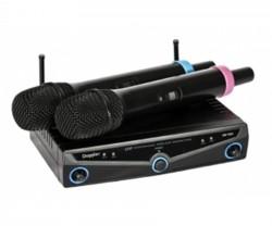 Doppler - Doppler DM-102H Çift Anten Çift El Telsiz Mikrofon