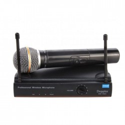 Doppler - Doppler DM-150H Çift Anten Tek El Telsiz Mikrofon