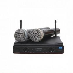 Doppler - Doppler DM-152H Çift Anten Çift El Telsiz Mikrofon