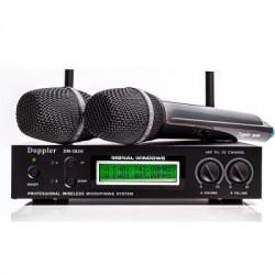 Doppler - Doppler DM-302H 2 li El Kablosuz Mikrofon Çift Anten
