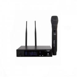 Doppler - Doppler DM-350H Çift Anten Tek El Telsiz Mikrofon