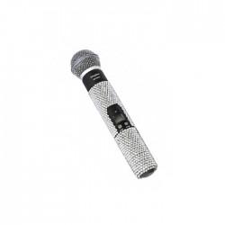 Doppler - Doppler DM-500 Gümüş Taşlı El Mikrofonu