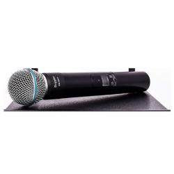 Doppler - Doppler DM-500 Siyah Taşlı El Mikrofonu