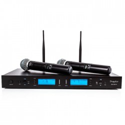 Doppler - Doppler DM-502H 2li El Kablosuz Mikrofon