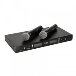 Doppler - Doppler DM-602H 2 li El Kablosuz Mikrofonu