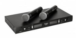 Doppler - Doppler DM-602H Çift Anten Çift El Telsiz Mikrofon