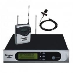 Doppler - Doppler DM-800B Çift Anten Tek Yaka Telsiz Mikrofon