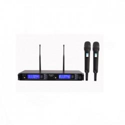 Doppler - Doppler DM-802H Çift Anten Çift El Telsiz Mikrofon