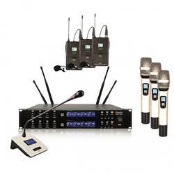 - Doppler DMT 8000 Set 8'li Telsiz Kablosuz Mikrofon Seti