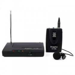 Doppler - Doppler VH-100B Tek Anten Tek Yaka Mini Telsiz Mikrofon