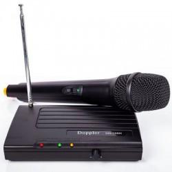 Doppler - Doppler VH-100H Tek Anten Tek El Mini Telsiz Mikrofon